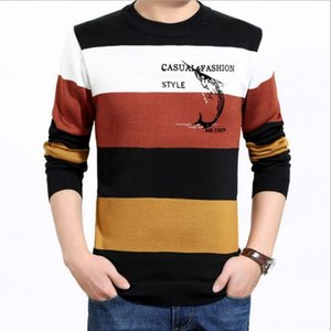 Covrlge Brand Hommes Pull Sweaters Social Coton mince Casual Casuré Sweathed Sweater Hommes Jersey Vêtements LJ200916
