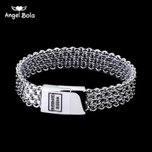 Free Shipping Men Bracelet Silver Color Buddha Bracelet & Bangle Male Accessory Gift Hip Hop Party Rock Buddha Jewelry