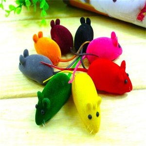 New Mital Mouse Mouse Mouse Shool Sound Squeak Rat Play Play для котенка Cat Play 6 * 3 * 2,5 см CCA6851 400 шт.