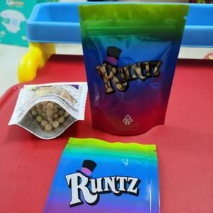 Runtz kurabiyeleri şaka yapıyor! Beyaz Pembe Hologram Runtz OG Shark New York Miami Zourz Para Bagg Kek Meyilli Frostiez Burtz Gruntz Ambalaj Çanta