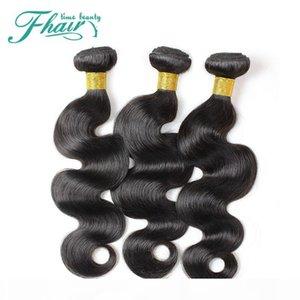 Factory Outlet 8A brasilianische Körper-Wellen-Haar-Bundles Weaves volles Häutchen Halten Körper-Wellen-Haar-Einschlagfaden 3 Bundles Menschliches Haar