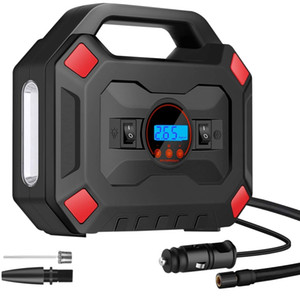 Portable Air Compressor Tire Inflator 12V Smart Digital Air Pump with LED Light for Car,Motorcycle,Outdoor Paddle Board