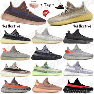 2021 جديد الصحراء حكيم عاكس الذيل ضوء الأحذية في الهواء الطلق أسرييل زيون الأرض أوريو yecheil أسود ساكنة رجل إمرأة أحذية رياضية مع صندوق