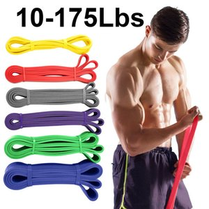 Uniexe 208cm high elastic latex natural rubber loop strength with gymnastic fitness expander to enhance driving force