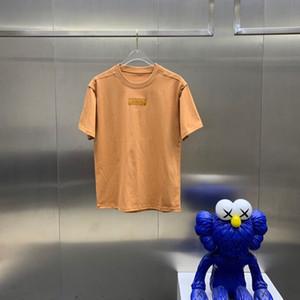 T-shirt T-shirt en coton T-shirt à manches courtes de 2021ss