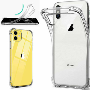 Clear Case For iPhone 12, 12 Pro, 12 Pro Max 11 Pro Max XR XS SE Soft TPU Back Cover Gel Shockproof Silicone