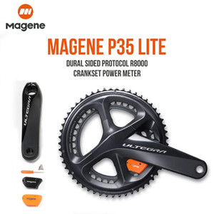 Magene Ultegra r8000 도로 자전거 파워 미터 P35 Lite Dual Side Crank Arm Power Meter 170mm 172.5mm 39/53 36/52 34/50 Compact