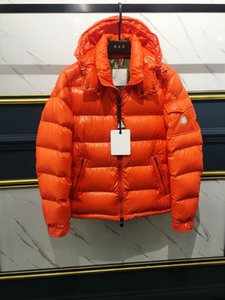 Top-Qualitäts-Entwerfer Mens Maya Winter-Daunenjacke Daunenjacken Parka klassisch beiläufige Hoodie Mäntel Outdoor-Warm-Ente Street Outfits