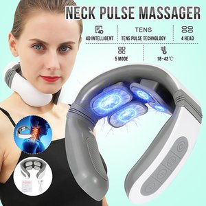 Cervical electric massager pulse neck treatment neck traction, neck stimulation to reduce pain