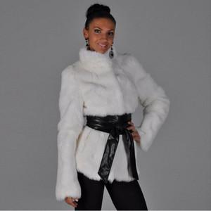 S-6XL Yeni Moda Kadın Kış Giyim Artı boyutu Kabarık Ceket Kadın Faux Fur Palto Yüksek İmitasyon Coat