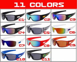 Gözlükler erkekleri göz kamaştırıcı spor bisiklet galss gözlük sürüş Moda yeni güneş gözlüğü kadın güneş camı 11 Renkler kaplama yansıtıcı