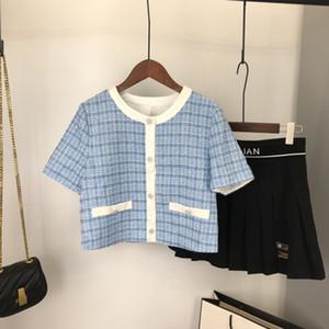 2020 designer high quality short sleeve shirt ladies t-shirt tops short casual ladies tops free shipping