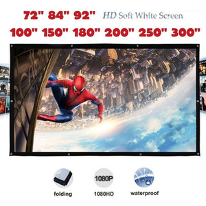 Yovanxer HD high contrast Projector Screen pantalla proyeccion Front Projection Screens with Eyelet High Brightness1