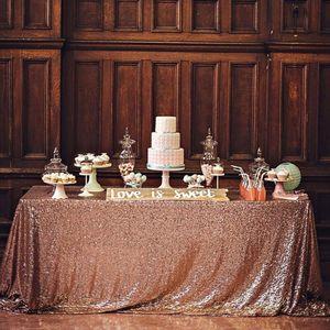 100x150cm Pailletten Glitter Tischdecke Rechteck Tischdecke für Bankett Partei Hochzeit Buffet Weihnachten Tischdecke Geschenktisch