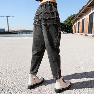 Max LuLu New Spring Korean Fashion Designer Womens Ripped Loose Denim Pants Ladies Vintage Gothic Jeans Punk Trousers Plus Size Y1214