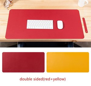Double Sided Desk Mats Oversized Mouse Pad Laptop Desk Pad Waterproof Pu Leather Mouse jllIfB allguy