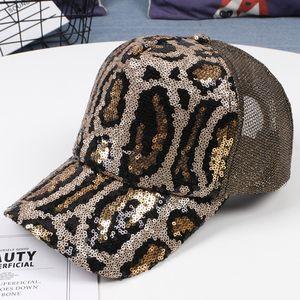 Yoyocorn Spor Kap SanPback Bayanlar Işlemeli Beyzbol Kapaklar Sequins Moda Rahat Kavisli Şapkalar Kızlar Hip Hop Şapka Ayarlayabilir Q1223
