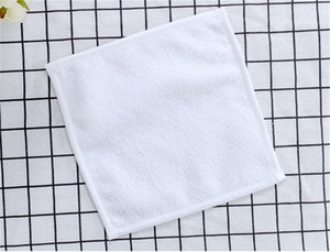 30*30CM Sublimation Kerchief Thermal Transfer Plain White Printed Kerchief Towel Unisex Portable Washable Washrag Hand Towel On Sale F102303