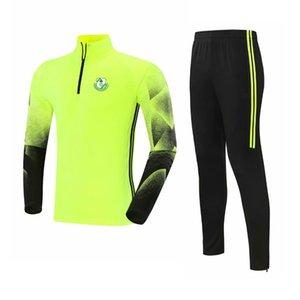 Shamrock Rovers 2021 chándal de hombres poliéster ocio chaqueta de ocio fútbol camiseta superior entrenamiento gimnasio ropa deportiva al aire libre ropa de jogging desgaste