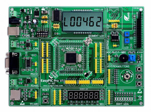 EasyPIC Pro Learning Development Board DsPIC PIC32 PIC24 with DsPIC33FJ256MC710 dwmQ#
