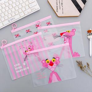 Leopard PVC Transparent Travel Cosmetic Bag Make Up Case Make Up File Bag Pouch Women Organizer Toiletry Storage Wash Kit