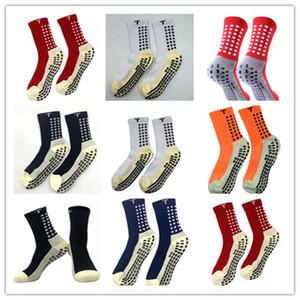 Mischungsauftrag 2020/21 Verkaufsfußballsocken rutschfeste Fußball Trusox Socken der Männer Fußballsocken Qualität Baumwolle Calcetines mit Trusox