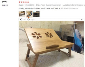 Portable Folding Bamboo Laptop Table Sofa Bed Office Laptop Stand Desk With Fan Bed Table For Comp sqcirP sports2010