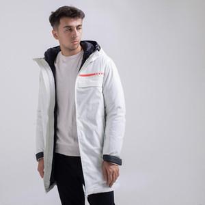 2020 cappotti di inverno del Mens nuovo marchio moda casual piumini antivento impermeabile affari 95 piume d'anatra bianca sezione calda lunga discesa felpe