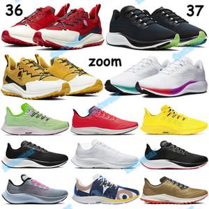 Fly Zoom tricot Pegasus maille 37 36 Chaussures de course jaune de chrome vrai 2020 Hommes Femmes FM Formateurs hyper raisin blanc multi-couleurs Sneakers