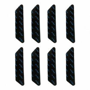 Lavable Inicio Potente alfombra de la manta etiqueta de ducha Suelo Esquinas Pinza No Trace extraíble Anti Slip reutilizable doble cara oW2C #