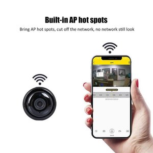 Wireless Mini IP Camera 960P HD IR Night Vision Micro Camera Home Security surveillance WiFi Baby Monitor