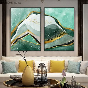 Modern Mountain Abstract Wall Poster Landscape Canvas Print Painting Contemporary Art Home Decoration Picture