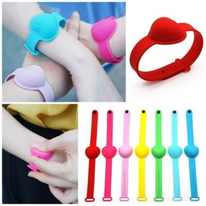 Silicone Wristbands Hand Sanitizer Bracelets Popular Watches Bottle Mosquito Repellent Sunscreen Gel Comfortable Durable Mix Colors 2 2lc F2