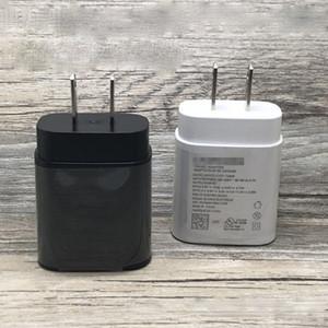 Тип с зарядным устройством Примечания 10 Быстрой зарядкой зарядного устройства штепсельной вилки UL ЕС Plug быстрого зарядного устройство PD 25W для Samsung Note 10 EP-TA800