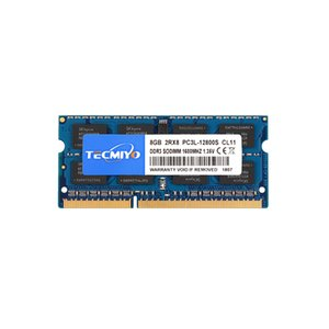 DDR3 RAM 8GB (1600MHZ 204-Pin) TECMIYO PC3L-12800S Non ECC Unbuffered 1.35V 1.5V CL11 2RX8 Dual Rank SODIMM Laptop Notebook Computer Memory Module-Blue