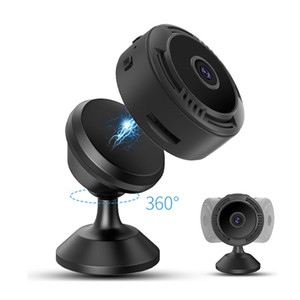F8 Wifi Mini Camera HD 1080P Smartphone APP Night Vision IP Home Security Video Cam DV Magnetic Holder Motion Detection Cameras A9