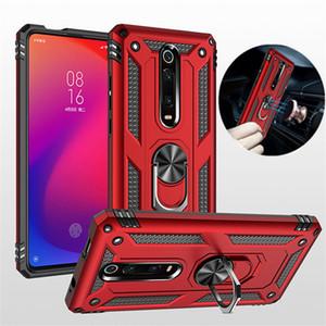 Coque de protection anti-choc pour Xiaomi Mi 10Pro 10 9T Pro 9Lite A3 Armure Béquille Retour Caver Pour redmi Note 9 9s 9Pro 9 9A 9C 8T 8