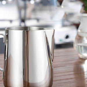 chá café de aço Art Frothing xícaras de leite inoxidável café Ferramentas ferramentas de barras Copa cozinha vai e soltar areia navio 100 150ml