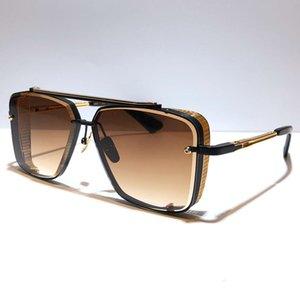 LIMITED Frameless Six Six Óculos de Sol 400 Vintage Clássica Óculos de Sol Moda Homens Square Vendendo D Metal UV com Caso Modelo E Len Eibi