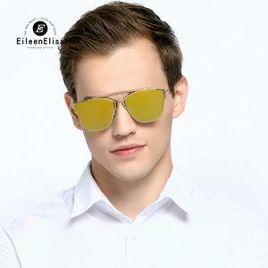 Mens Sunglasses Designer Fashion EE Brand Brand Struttura a specchio Samvi Occhiali da sole UV400 Samvi