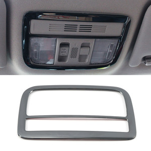 Car Accessories Stainless Front Reading Light Lamp Cover Trim Frame Sticker Interior Decoration for Honda Civic 10th 2016-2020
