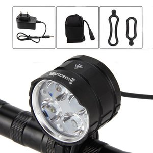 Solarstorm 4x XML T6 LED 3200 LM Bike Front Bike Bicycle Bicycle Cycling Light Lights Handlamp + Caricabatterie AC