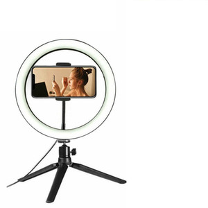"""10"""" LED Ring Light Photographic Selfie Ring Lighting with Stand For Smartphone Youtube Tiktok Makeup Video Studio Tripod Ring"""