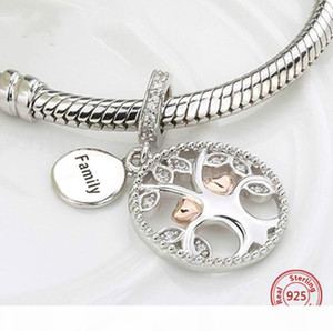 925 silver charms warming family the tree of life beads fit authentic pandora bracelets jewelry making diy valentines gifts