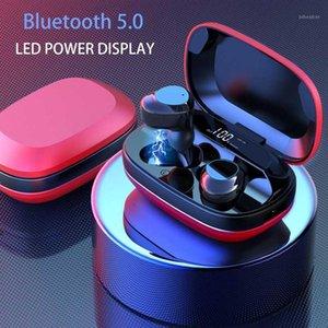 TWS G16 Bluetooth Наушники 5.0 Сенсорное управление Blutooth Earbuds Стерео шумоподавление Шарниковая гарнитура со светодиодным дисплеем Зарядная коробка1
