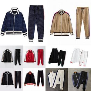 Novos 20ss Mens Womens Designers Tracksuit Suits Ternos Homens Trilha Suor Terno Casacos Homem Tracksuits Jackets Sweatshirt Sportswear GS5258