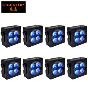 90W 4X18W RGBW LED PAR Light / свет диско управления DMX LED мыть свет этап профессионального Свадебный танцзал DJ оборудование