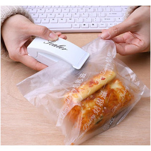 Bag Heat Sealer Mini Heat Sealing Machine Packing Plastic Bag Impulse Sealer Seal Portable Travel Hand Pressure Food S jllvTv mxyard