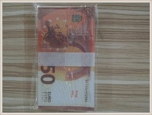 Prop Pxdxd Bar Euro Toy Counterfeit Copy 50 MV Stage Hot Party LE50-45 Shooting Banknote Atmosphere Gsucb