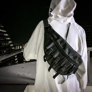 Fanny Waist Bag Men Waterproof Fashion Large Chest Pack Outdoor Sport Crossbody Bag Casual Multi pocket Travel Male Bum Belt Bag